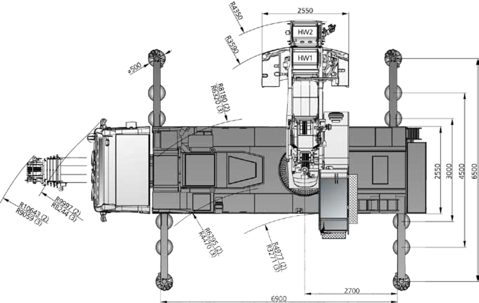 Demag City Crane Movement Diagram