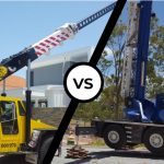 franna crane vs all terrain crane