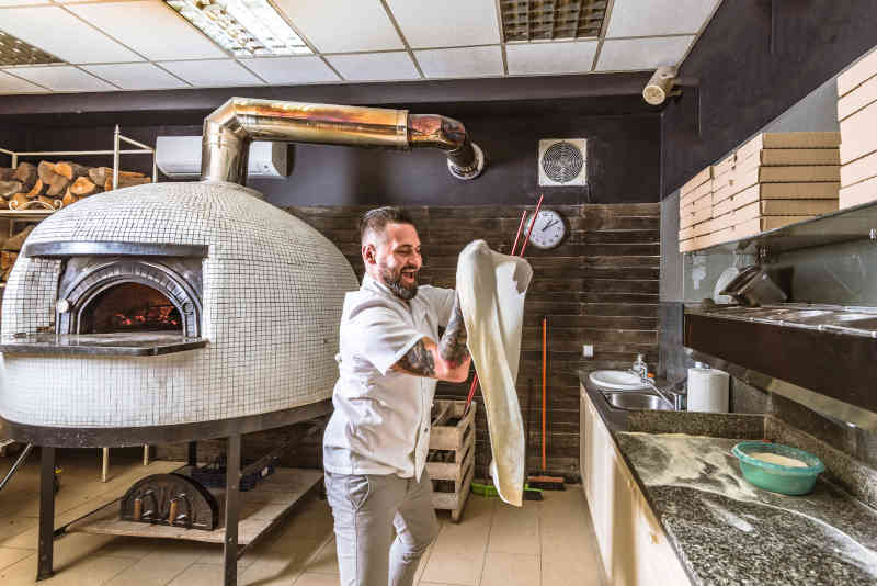 How To Move A Large Pizza Oven - Crane Hire