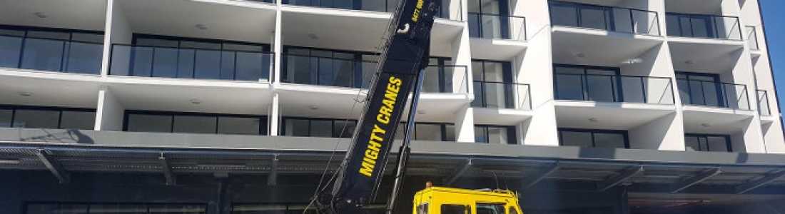 The Benefits Of Mobile Crane Hire