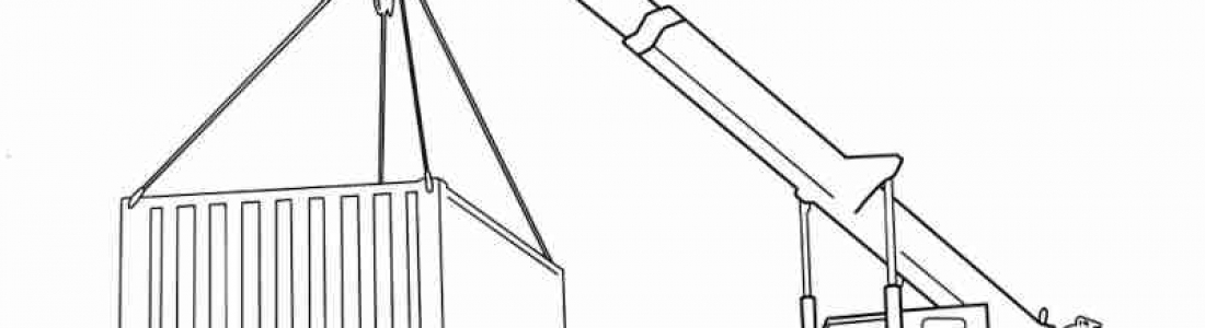 Free Kids Colouring Page Franna Mobile Crane AT20
