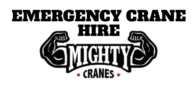 Emergency Crane Hire
