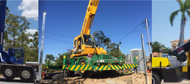 Domestic Crane Hire Brisbane