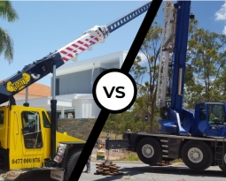 Franna Crane or All Terrain Crane Hire – Which Is Best?