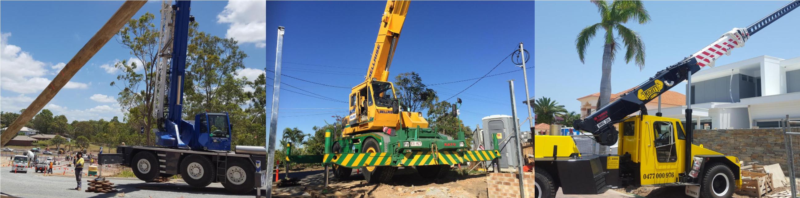 Domestic Crane Hire Brisbane