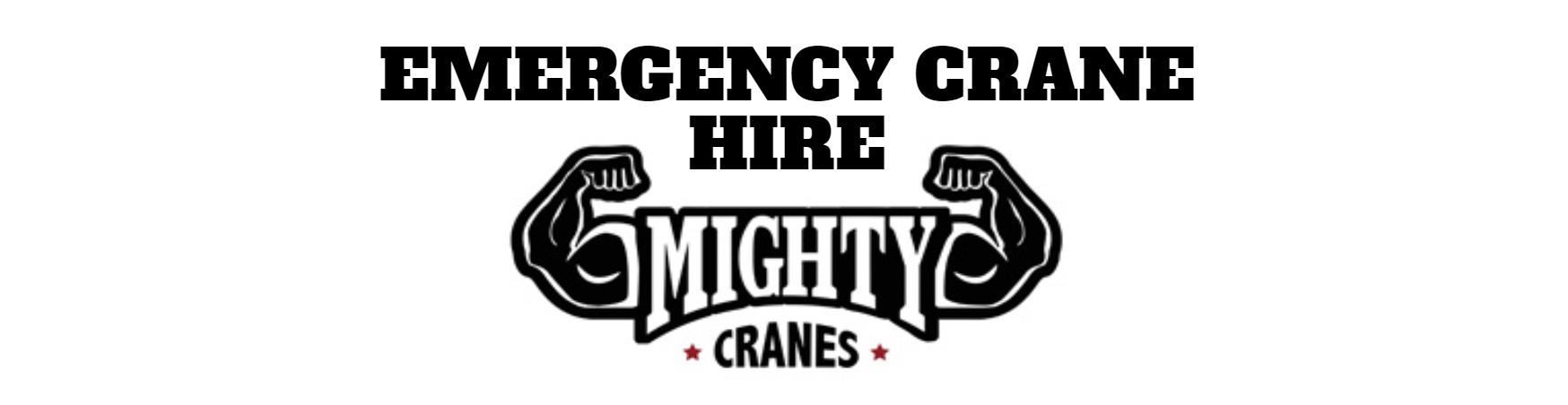 Emergency Crane Hire