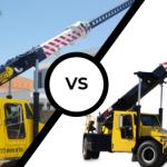 dry crane hire vs wet crane hire
