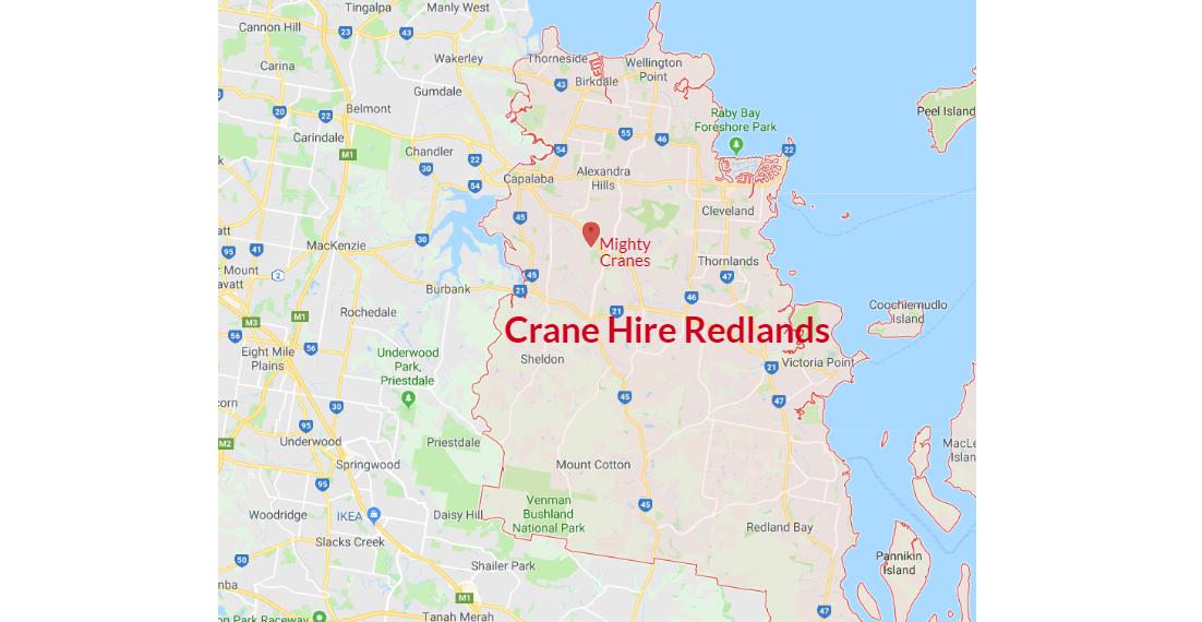 Crane Hire Redlands – Choose Mighty Cranes