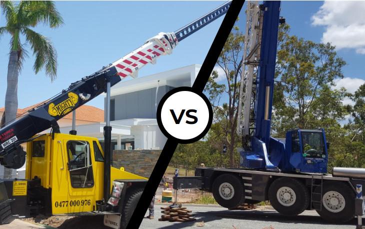 Franna Crane or All Terrain Crane Hire – Which Is Best?